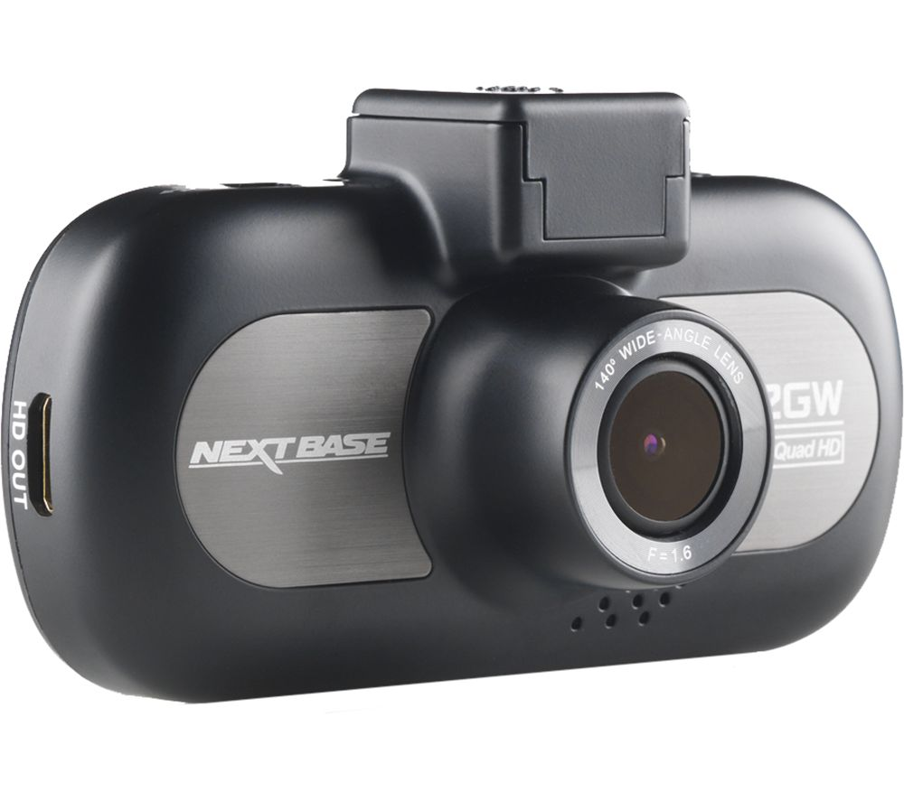 NEXT BASE iNCarCam 412GW Dash Cam - Black, Black