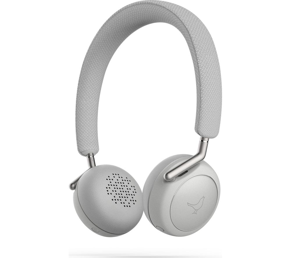 LIBRATONE Q Adapt Wireless Noise-Cancelling Headphones - Cloudy White, White