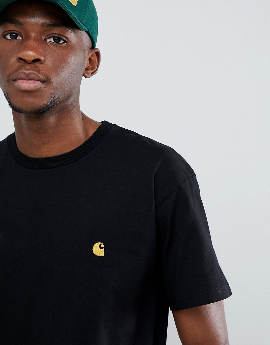 Carhartt WIP Chase Fit T-Shirt - Black