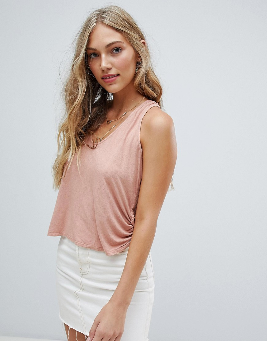 NYTT Juliette Two Way Tie Cami - Coral