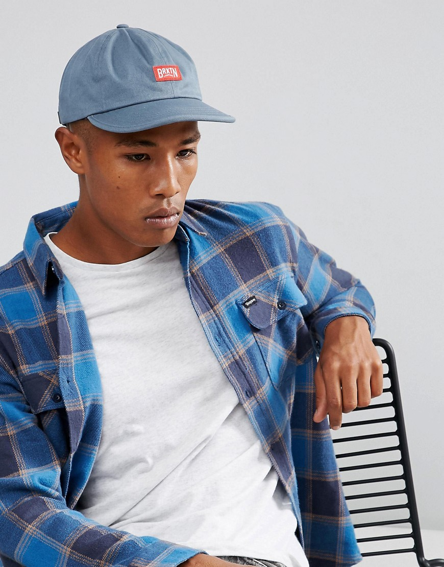 Brixton Langley Cap With Adjustable Strap - Blue