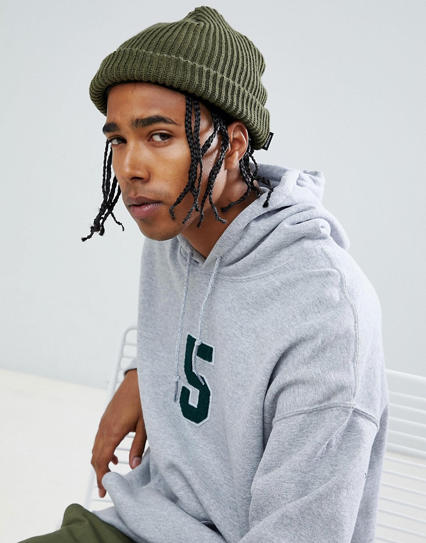 Dickies Claudville short beanie in green - Green
