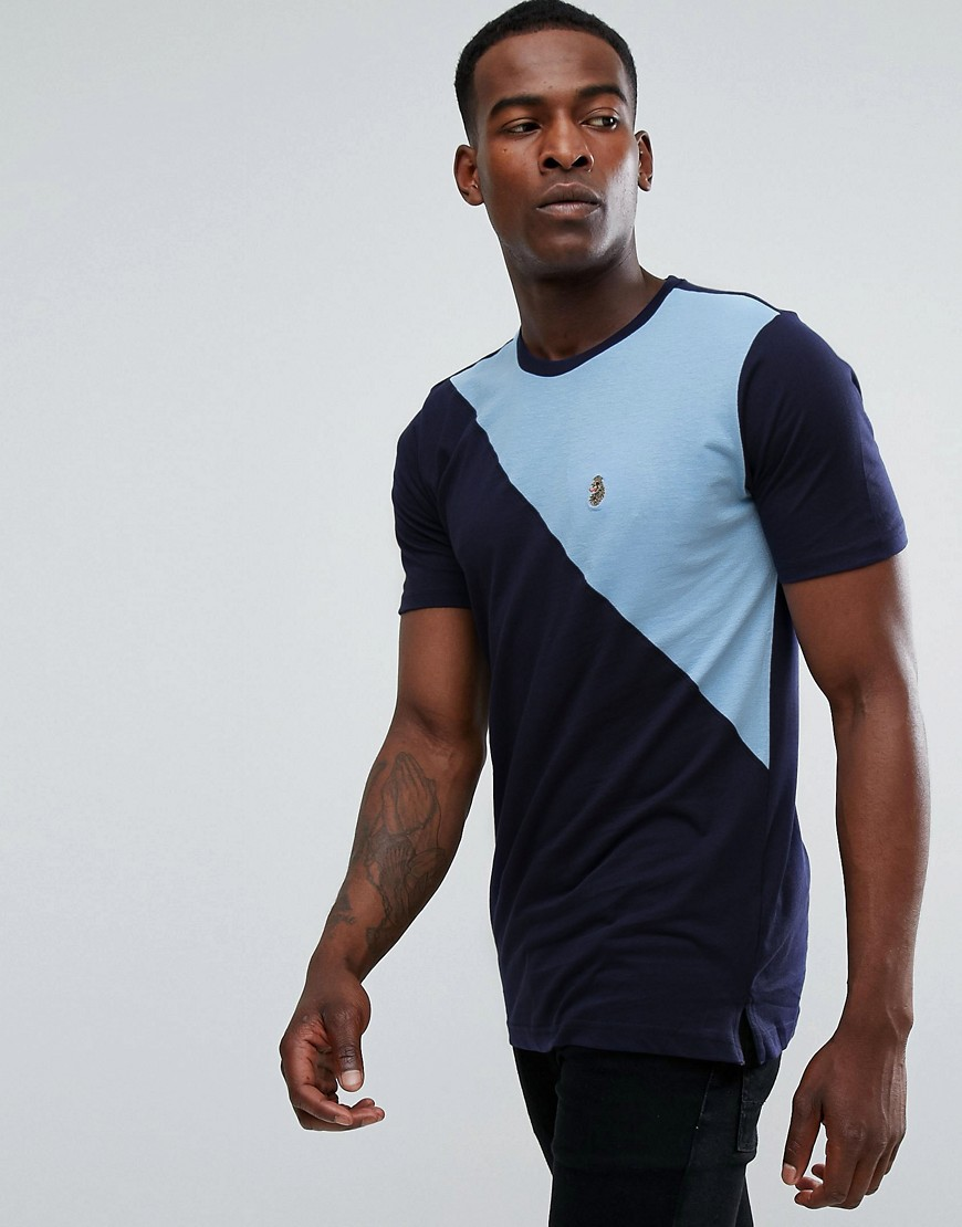 Luke 1977 Sport Cut and Sew T-shirt - Lux navy