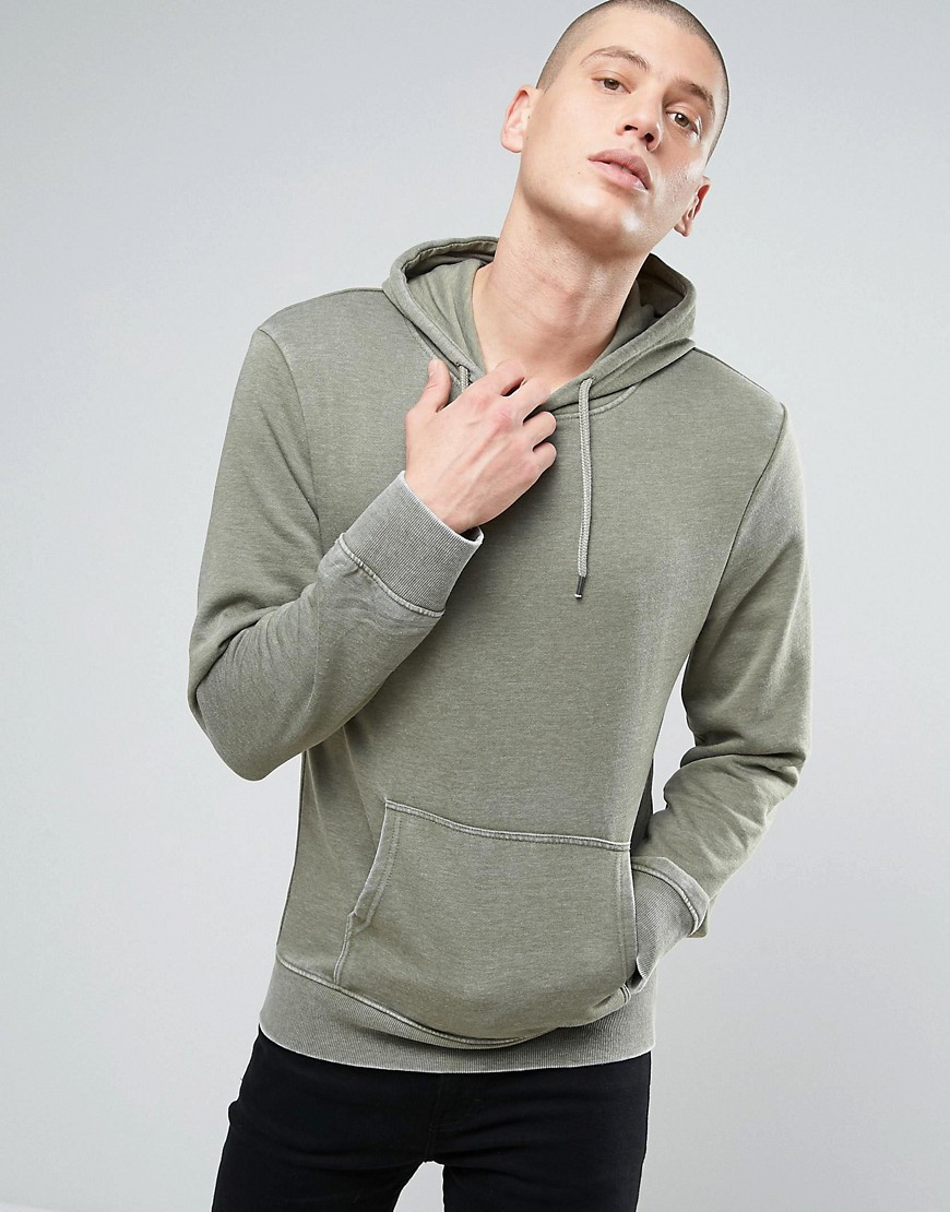 Another Influence Burn Out Hoodie - Green