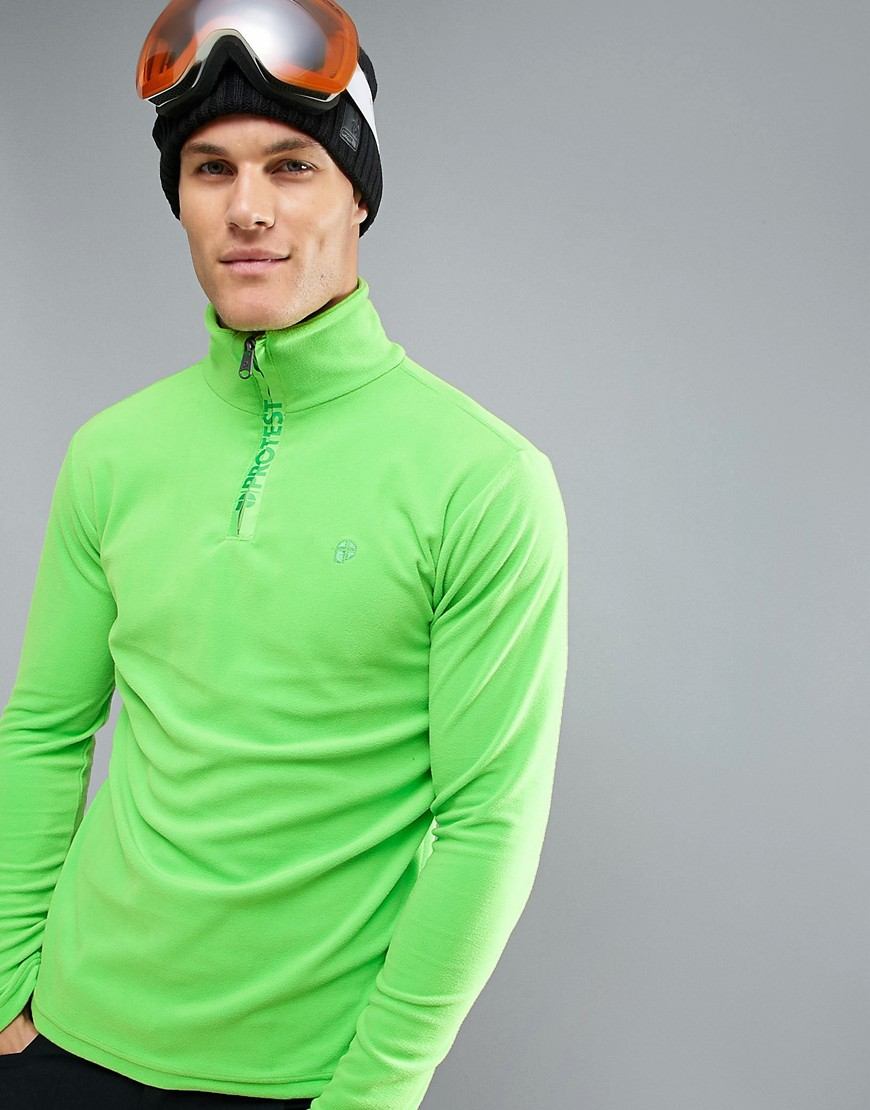 Protest Perfecty 1/4 Mid Layer Ski - Green