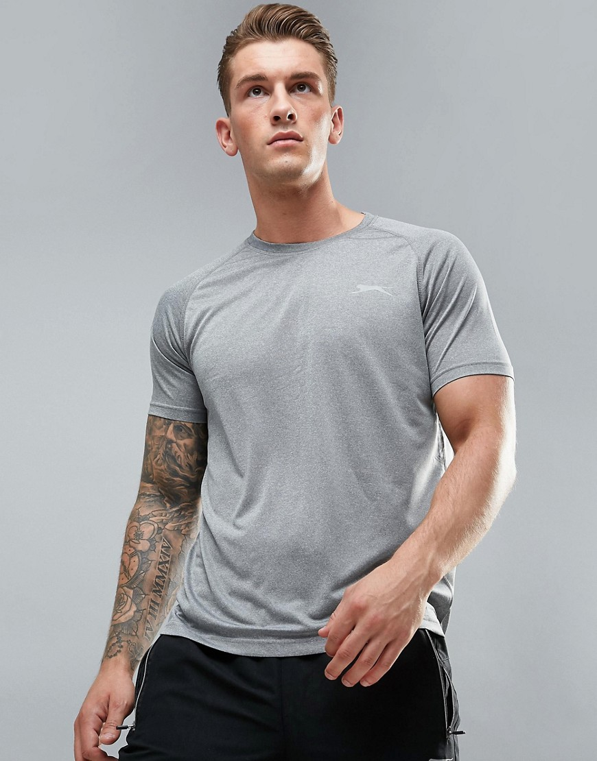 Slazenger Raglan Active T-Shirt - Grey