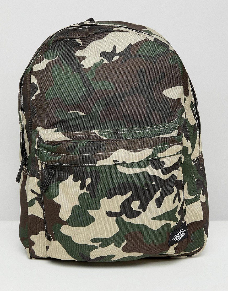 Dickies Indianapolis Backpack In Camo - Camo