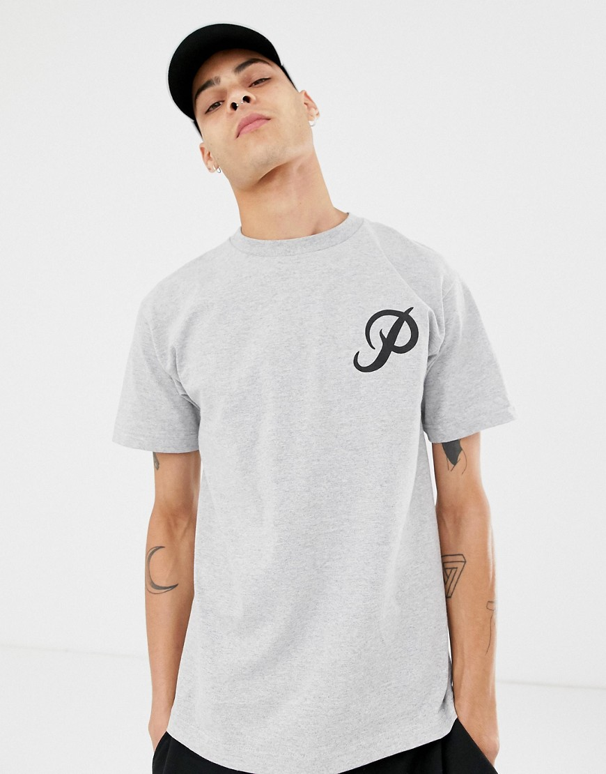 Primitive Classic Logo T-Shirt In Grey - Grey