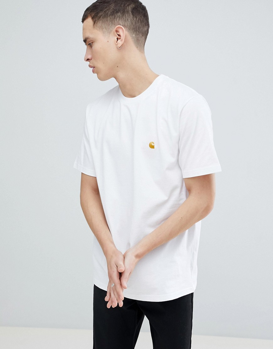 Carhartt WIP Chase Fit T-Shirt - White