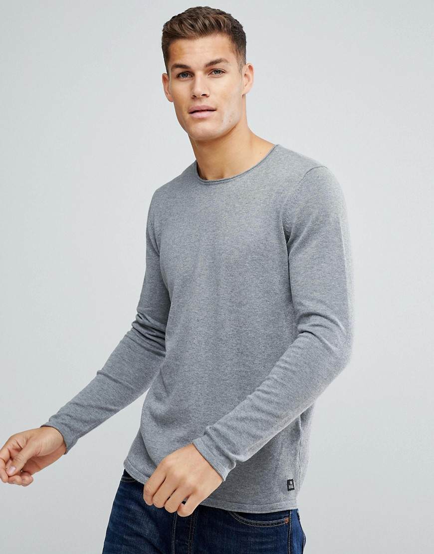 Tom Tailor Jumper In Light Grey - Grey