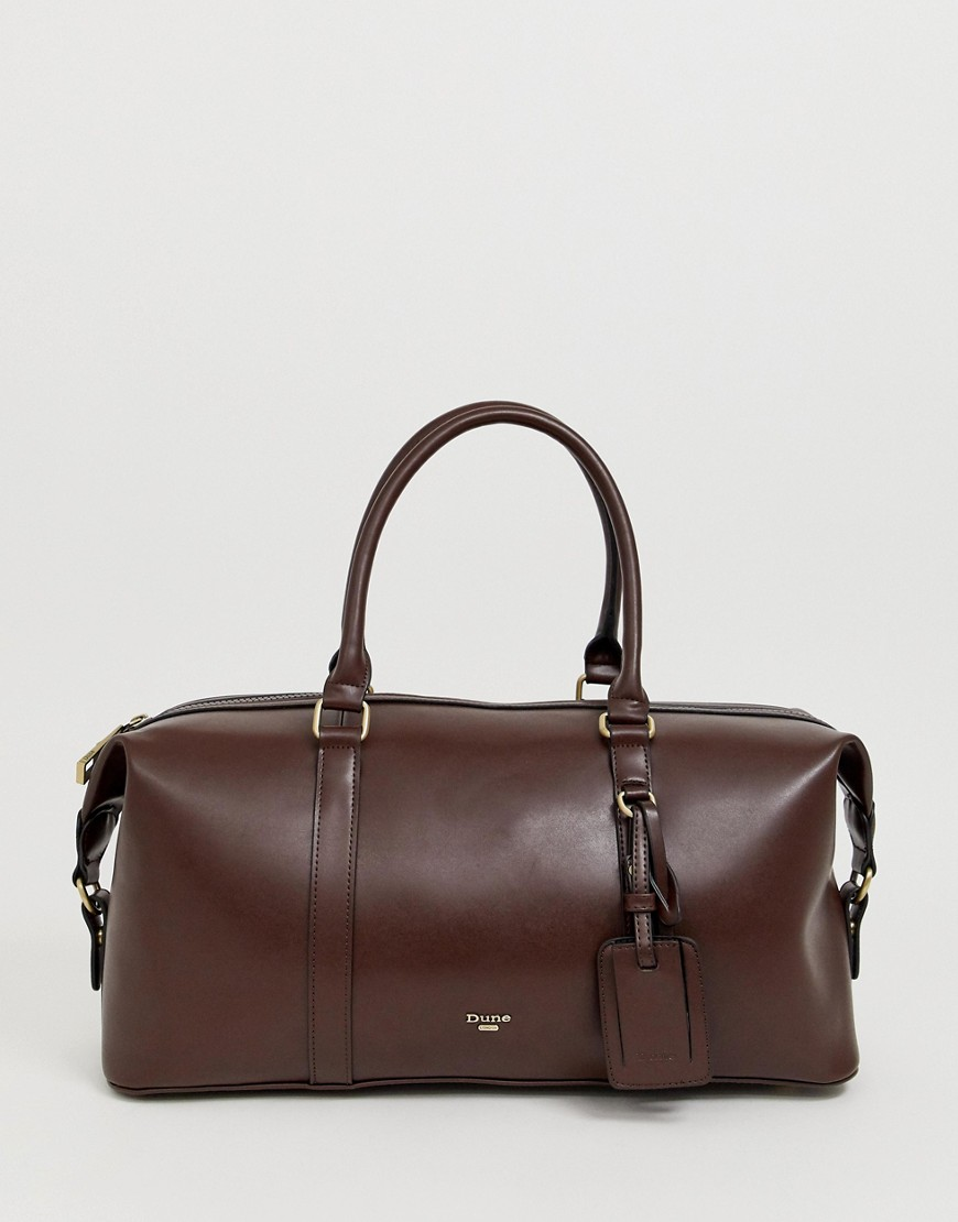 Dune Zack Holdall In Brown - Brown
