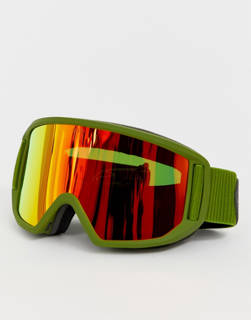 Anon Relapse Snow Goggles with Spare Lens - Green