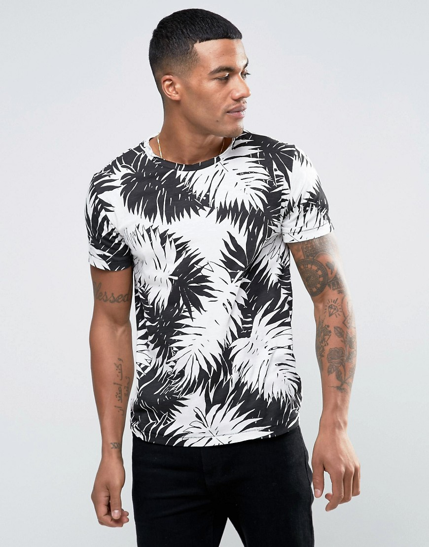 Replay Palm Print T-Shirt - Palm print