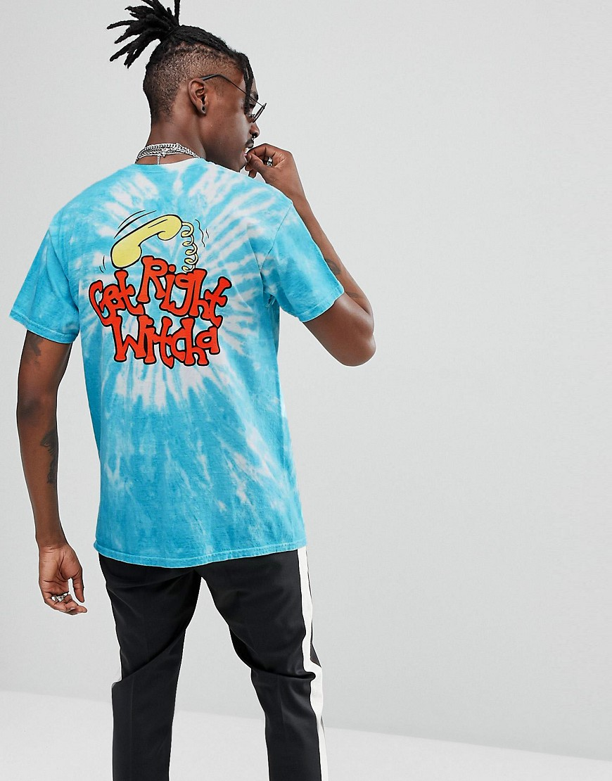 Migos Get Right Tie Dye T-Shirt - Blue