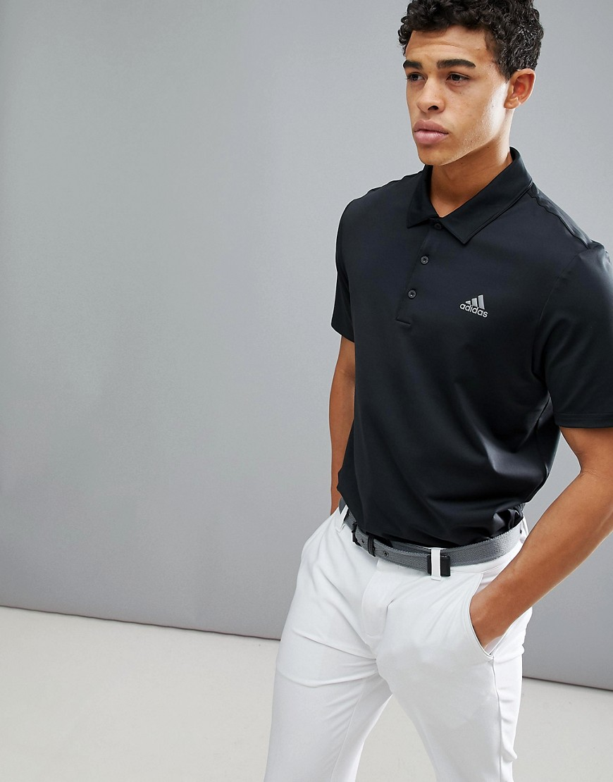 adidas Golf Ultimate 365 Polo Shirt In Black CY5403 - Black