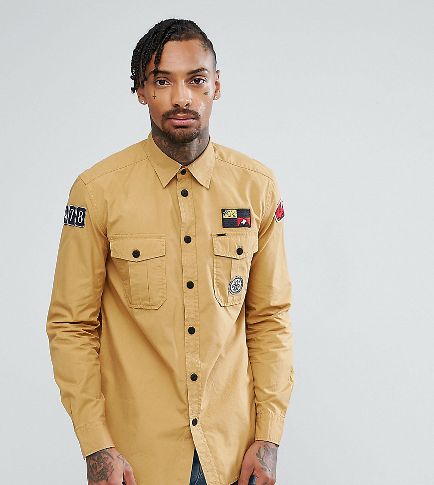 Diesel Badges Shirt - Ta1 tan 1