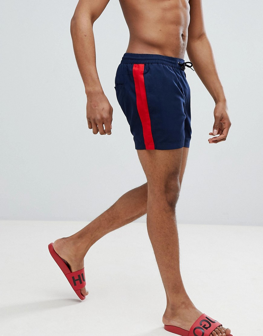 Another Influence Side Stripe Swim Short - Navy