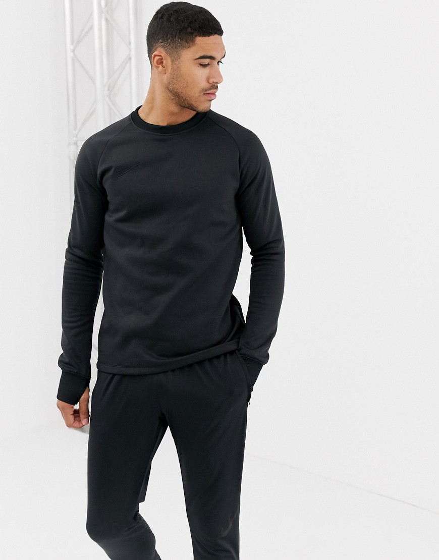 Nike Football Academy Therma Sweat In Black AO9189-010 - Black