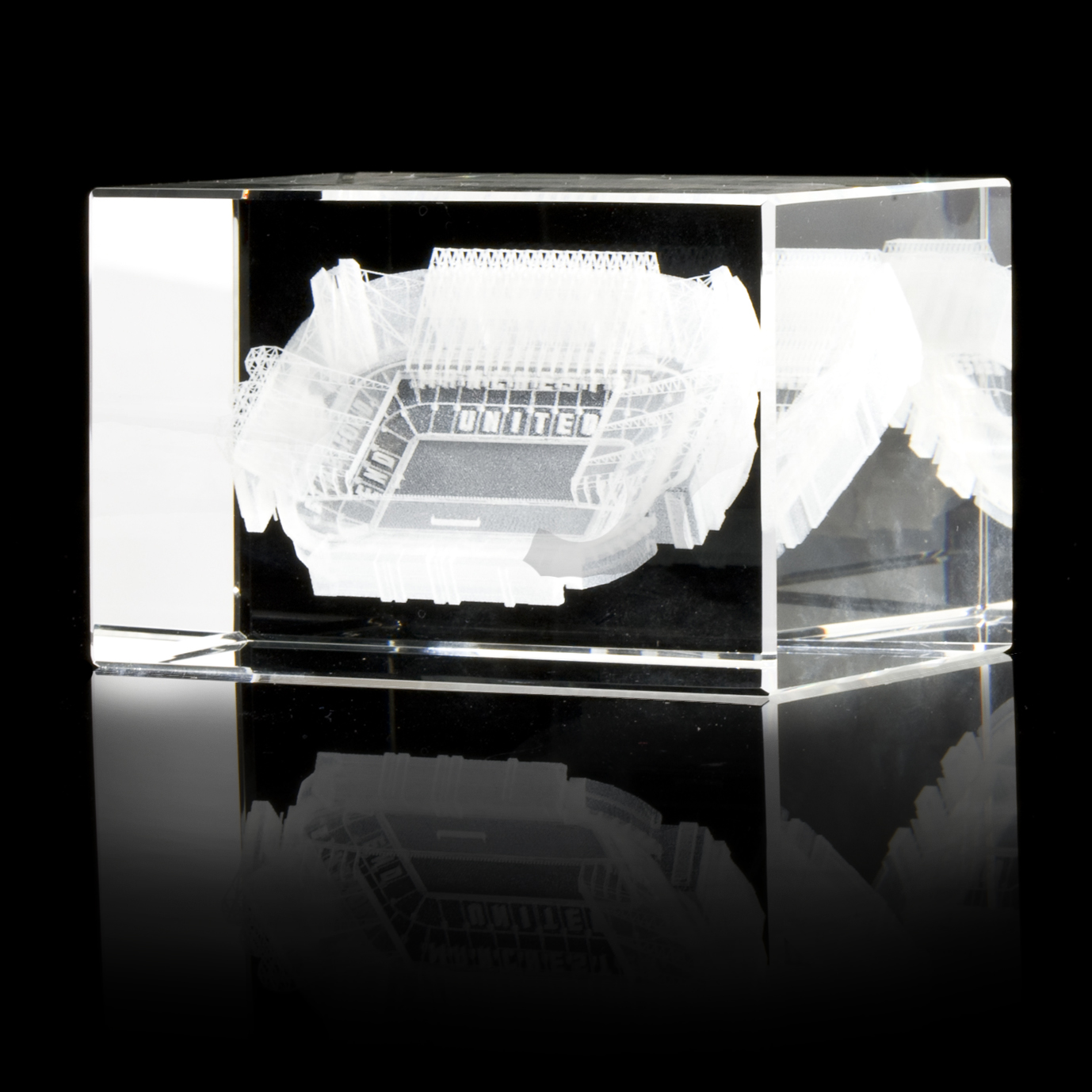 Manchester United Crystal 3D Stadium Block
