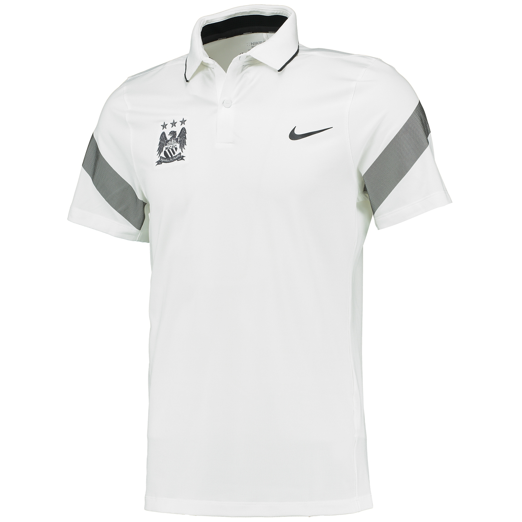 Manchester City Commander Polo White