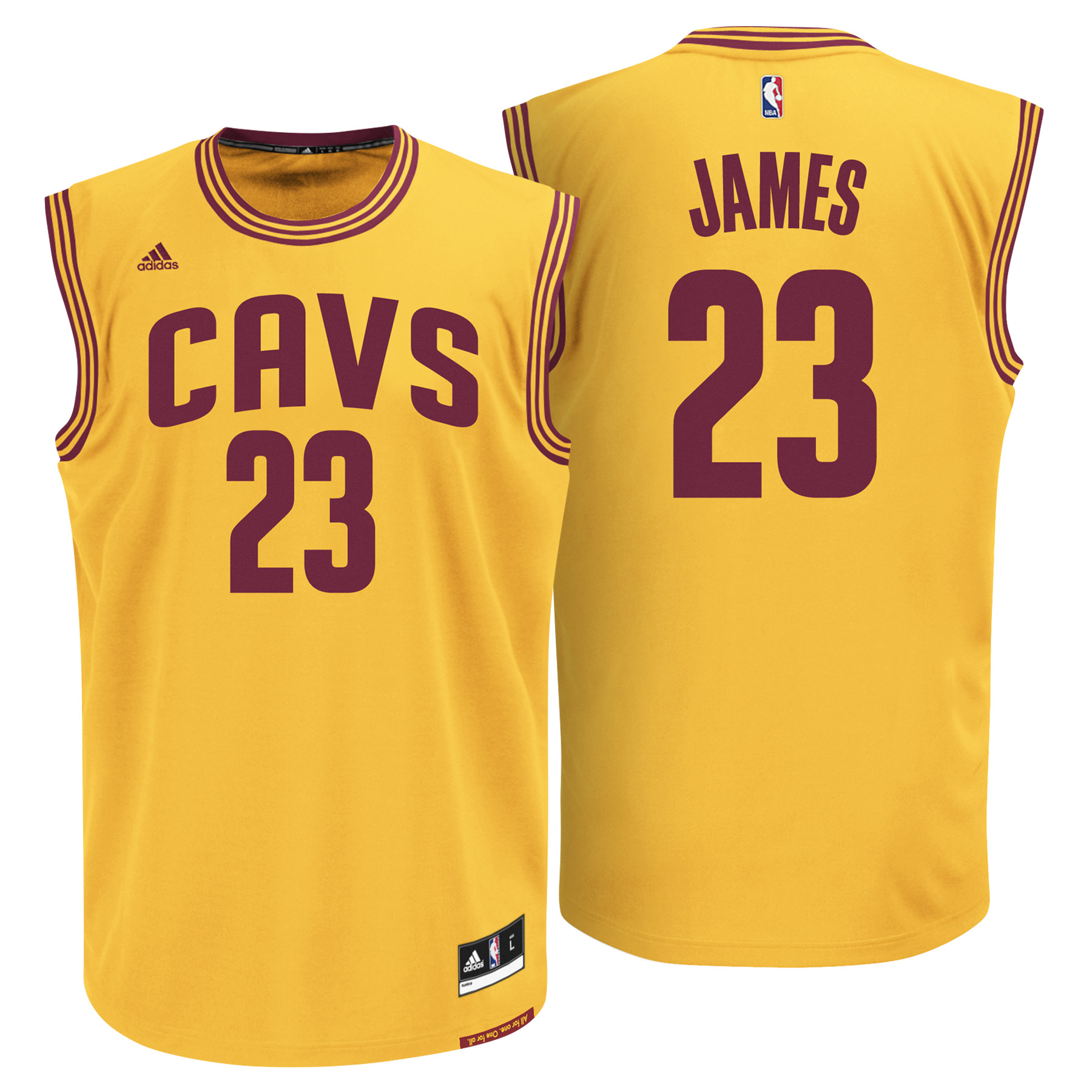 Cleveland Cavaliers Alternate Replica Jersey - Lebron James - Mens