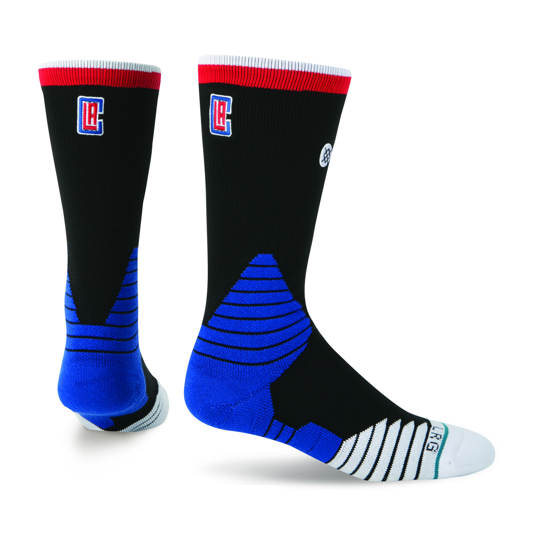 Los Angeles Clippers Stance On-Court Road Crew Socks