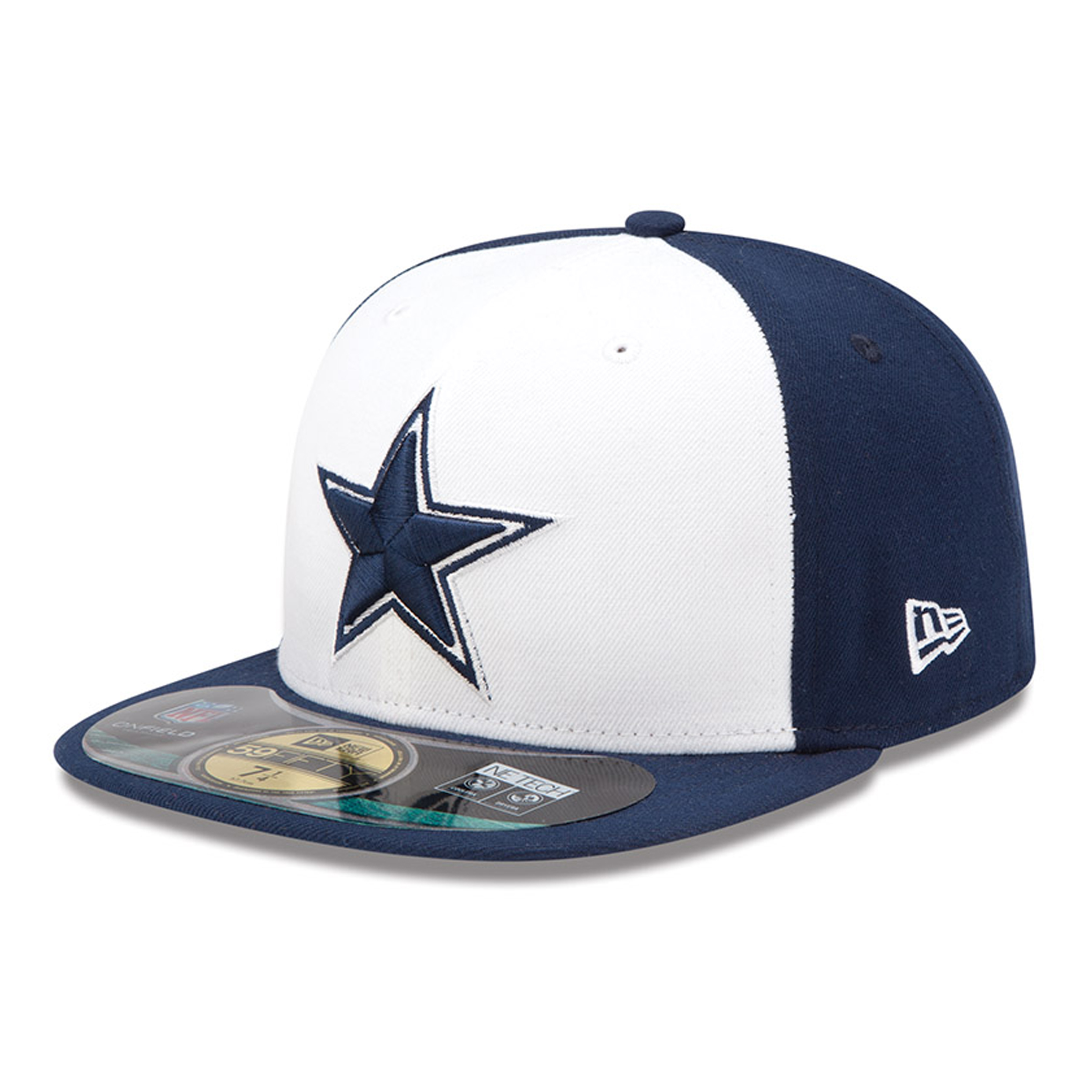 Dallas Cowboys New Era 59FIFTY Authentic On Field Fitted Cap