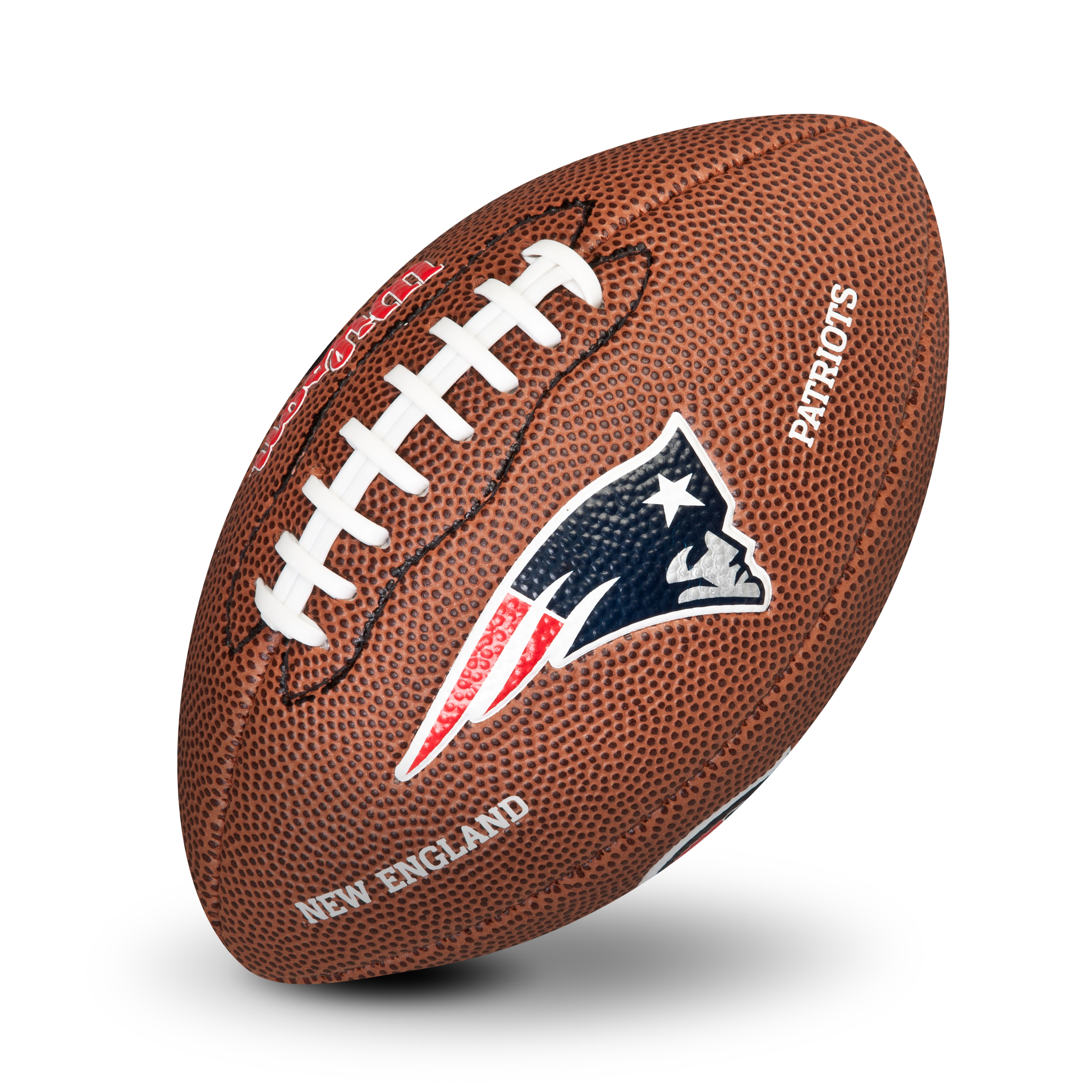 New England Patriots NFL Team Logo Mini Size Rubber Football