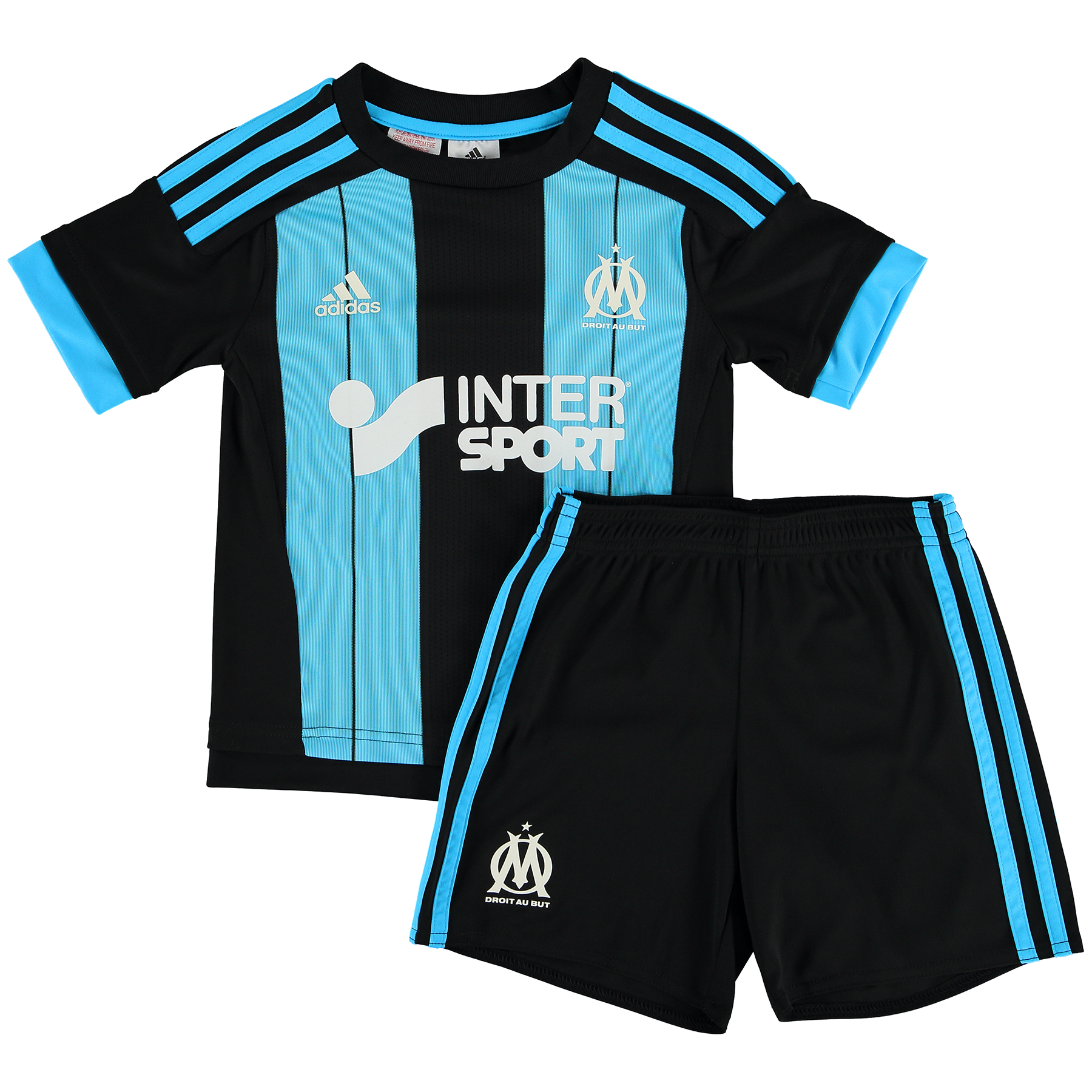 Olympique de Marseille Away Kit 2015/16 - Infants