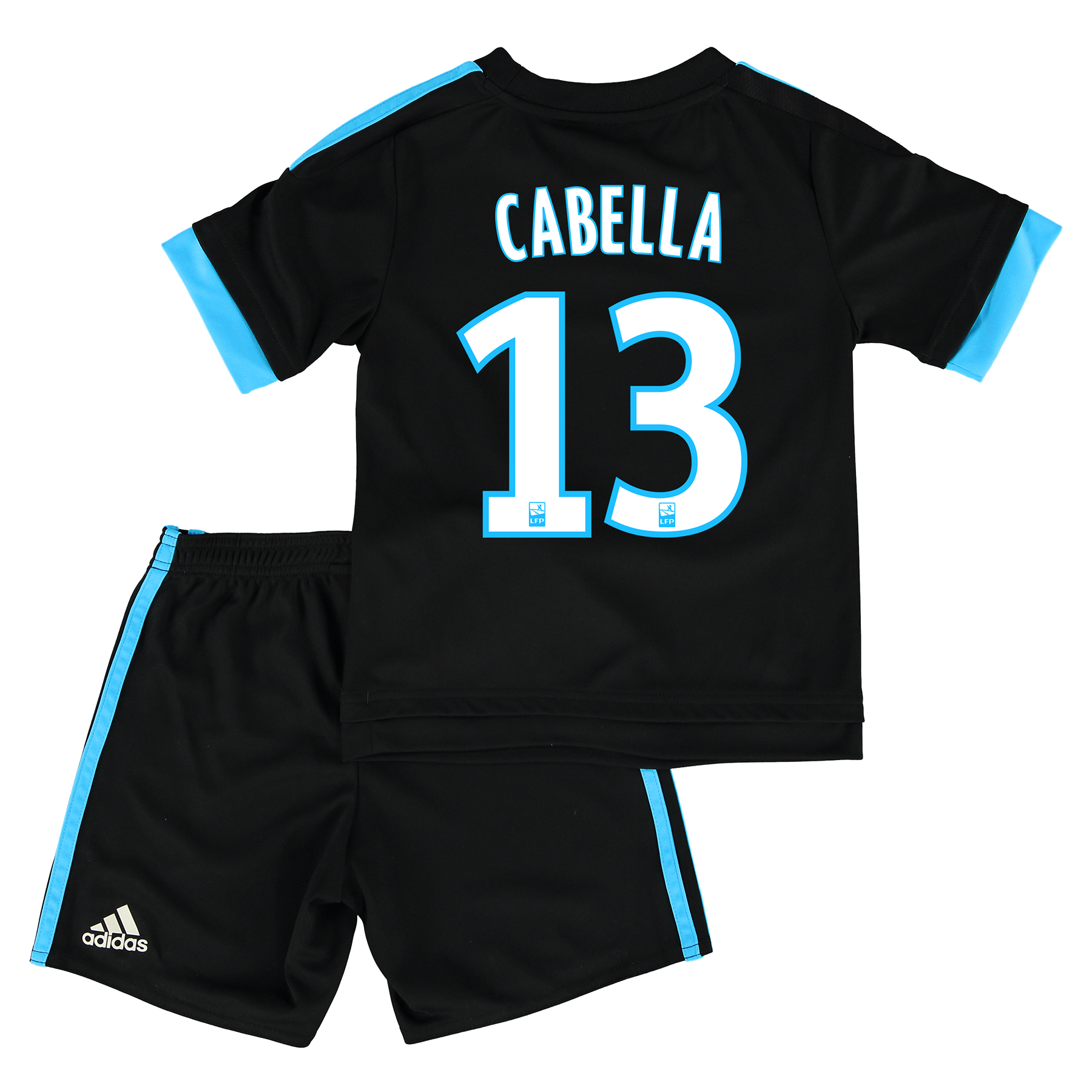 Olympique de Marseille Away Kit 2015/16 - Infants with Cabella 13 printing