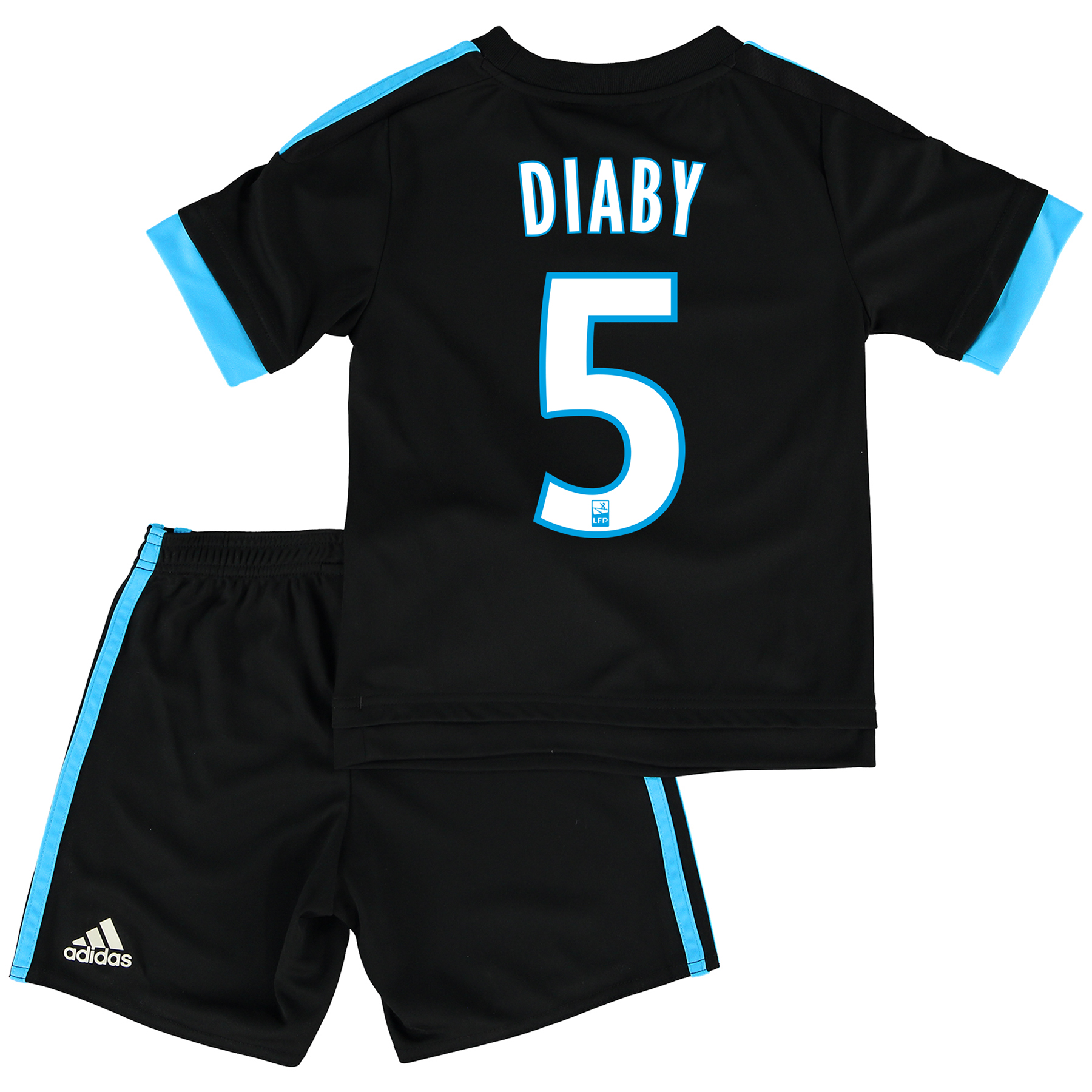 Olympique de Marseille Away Kit 2015/16 - Infants with Diaby 5 printing