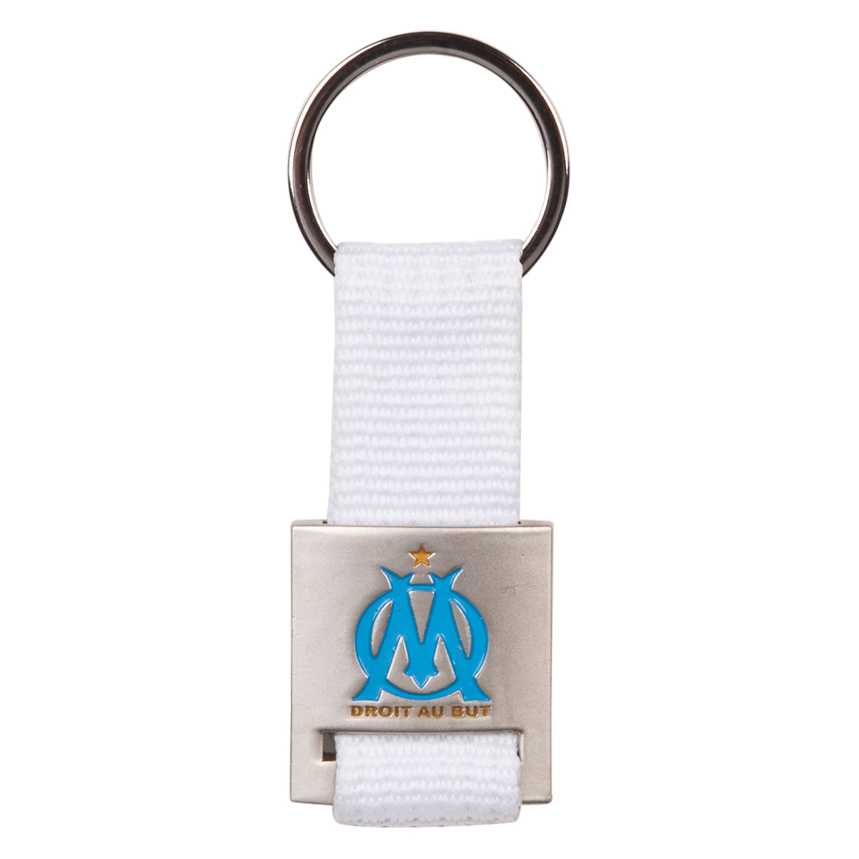 Olympique de Marseille Braid Keyring