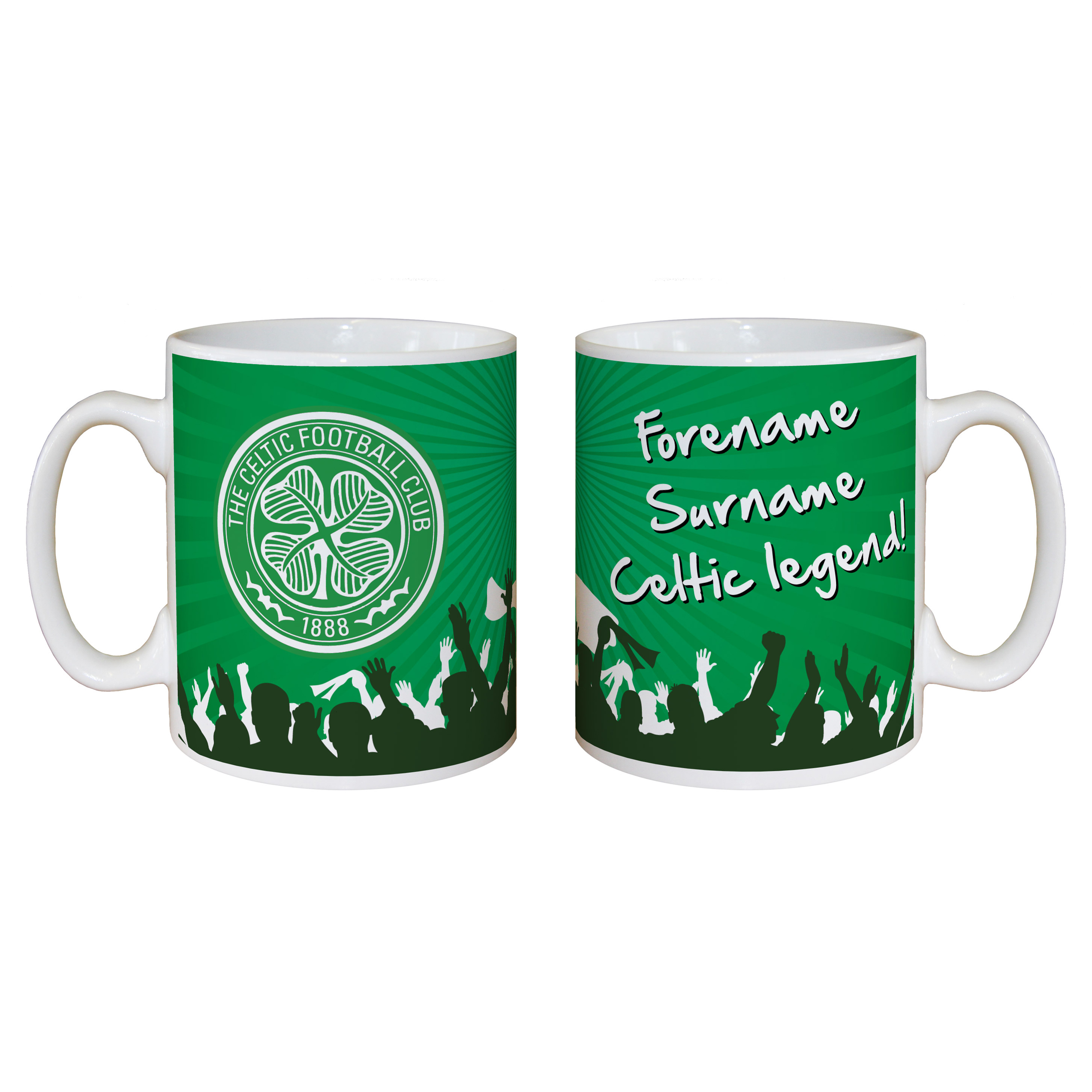Celtic Personalised Legend Mug