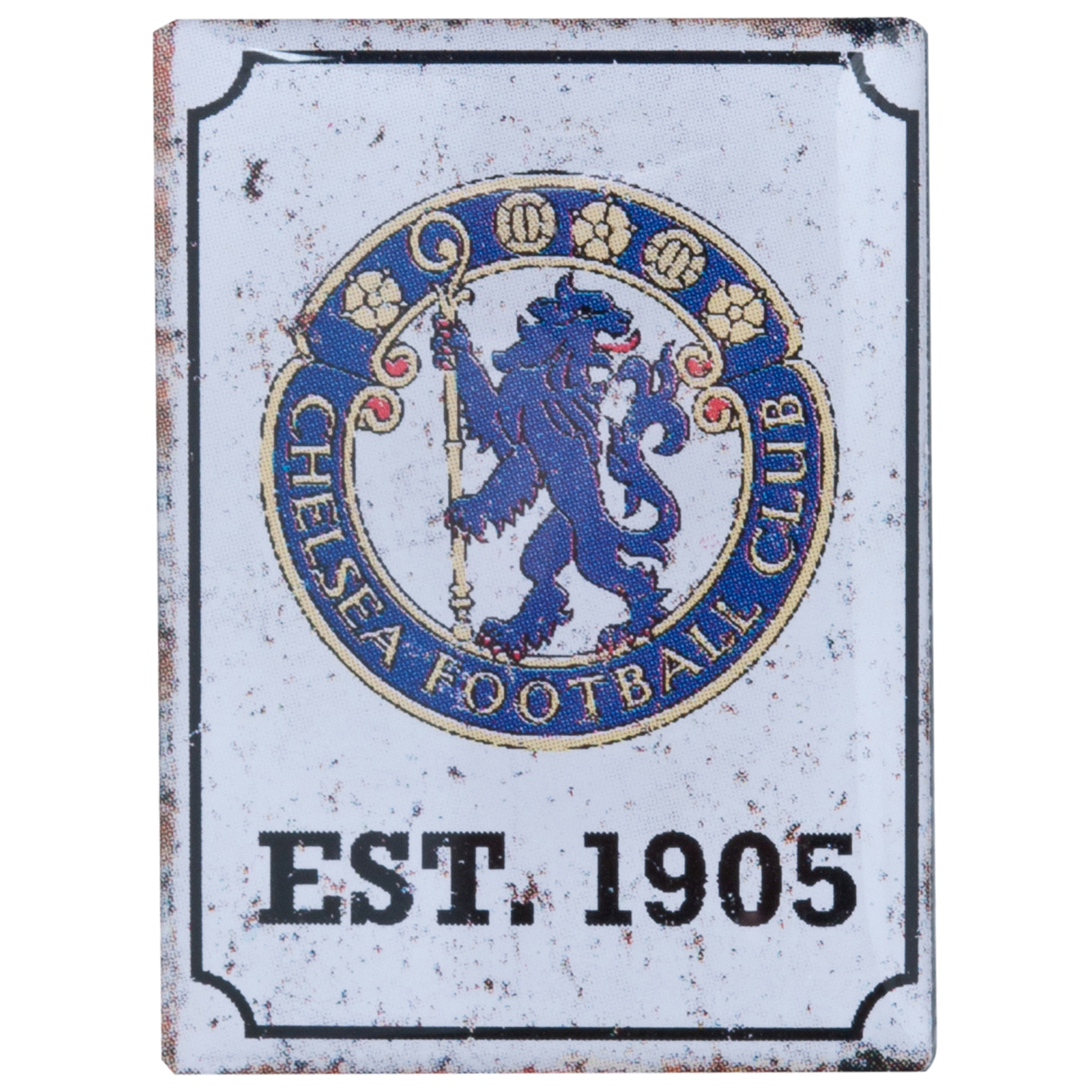Chelsea Nostaglia Logo Pin Badge