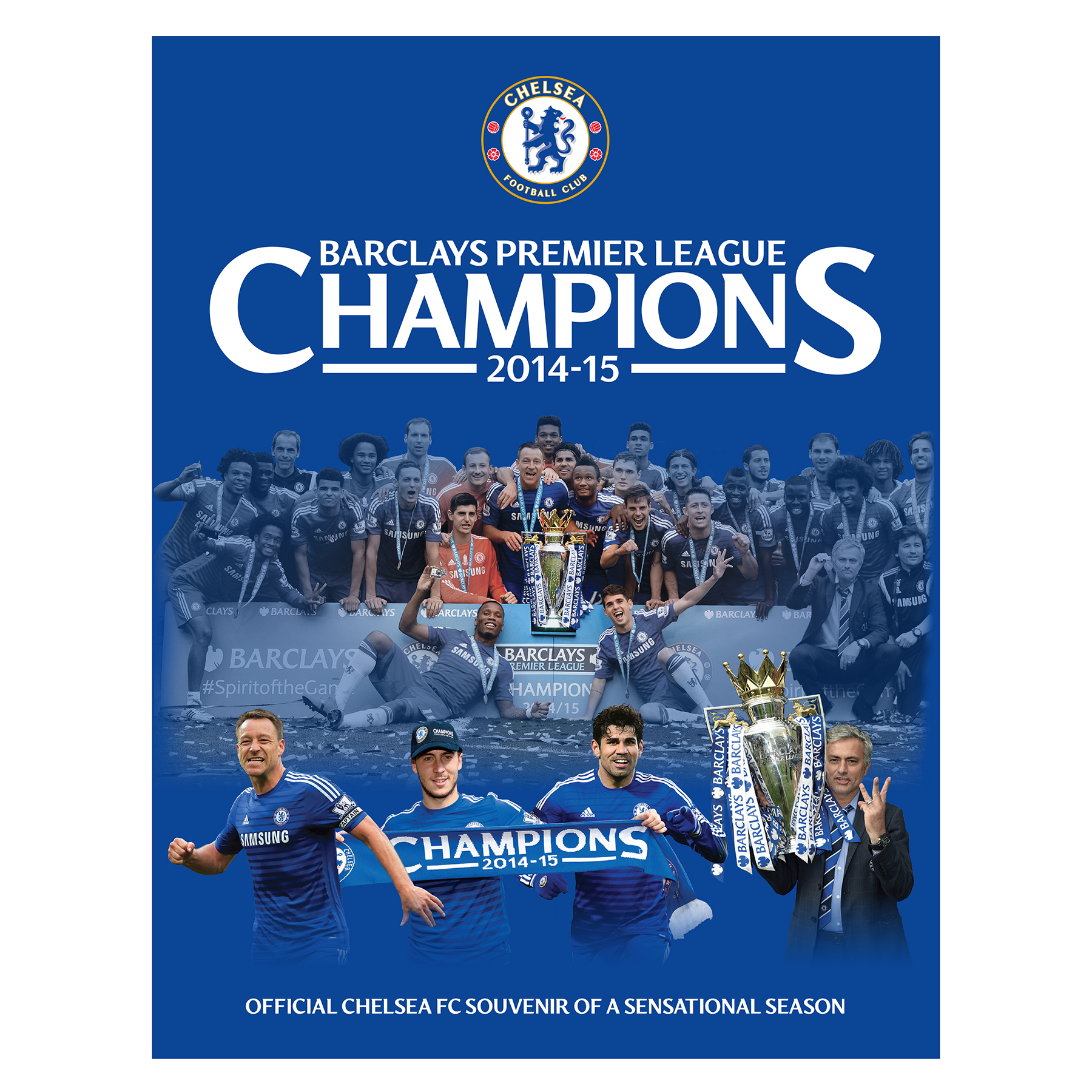 Chelsea 2014/15 Champions Book - Hard Back