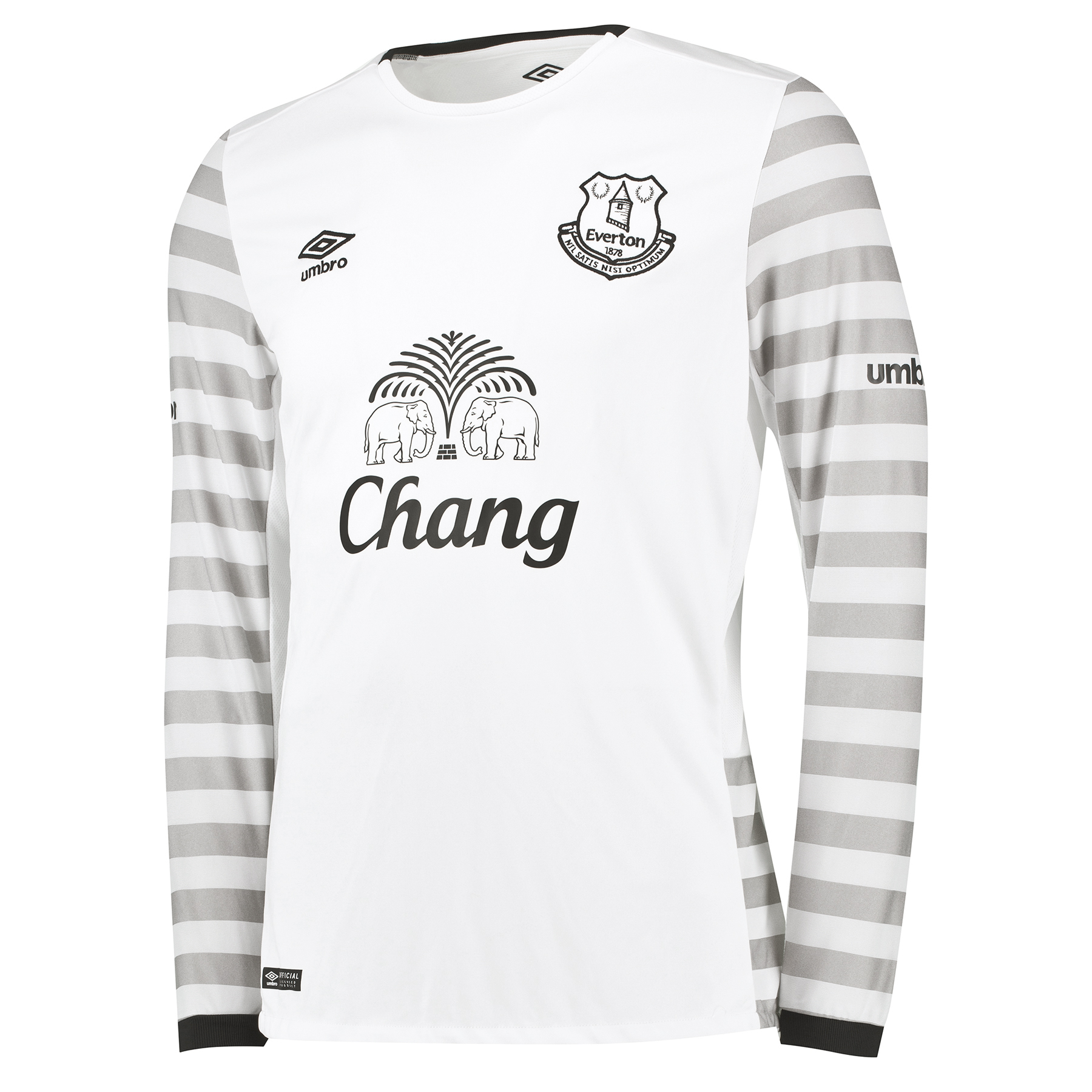 Everton Away Shirt 2015/16 - Long Sleeved