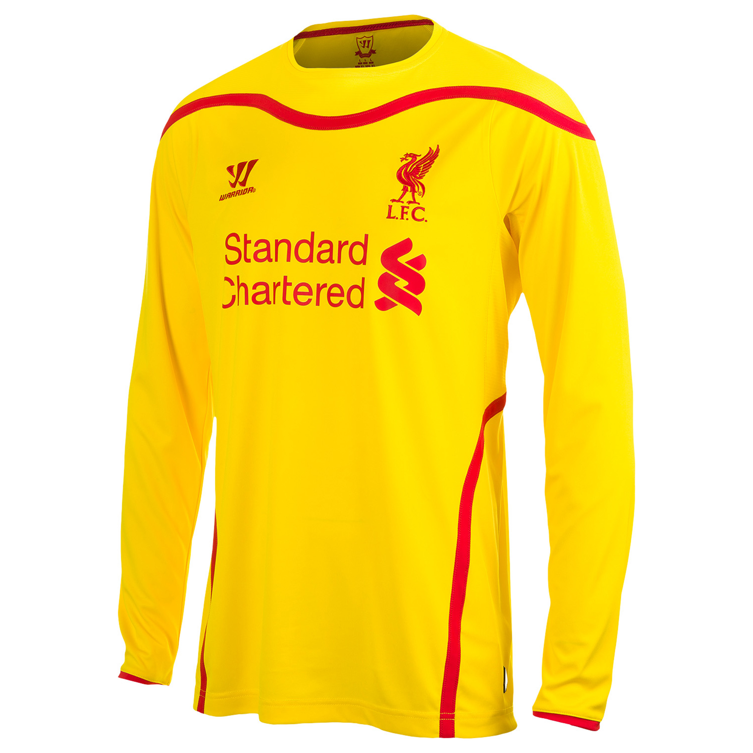Liverpool Away Shirt 2014/15 Long Sleeve