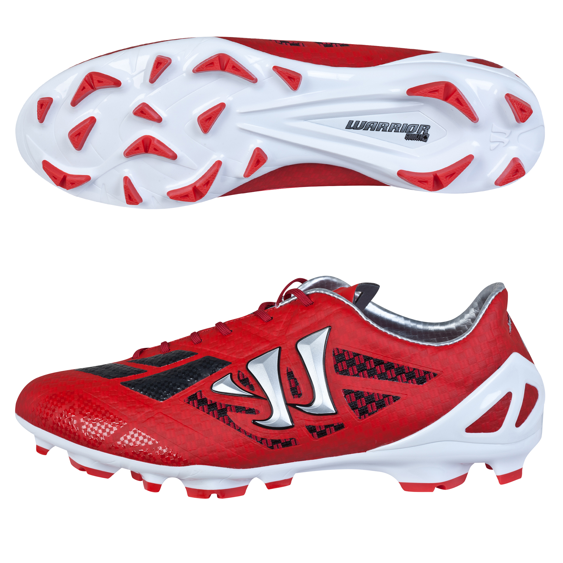 Warrior Gambler II S-Lite Firm Ground Red