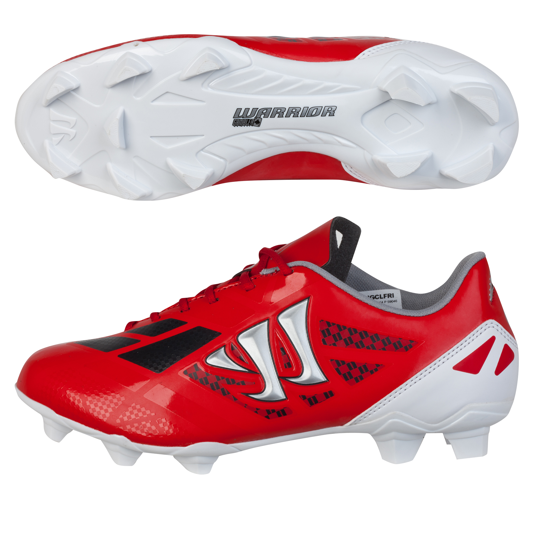 Warrior Gambler II Clash Firm Ground - Kids Red