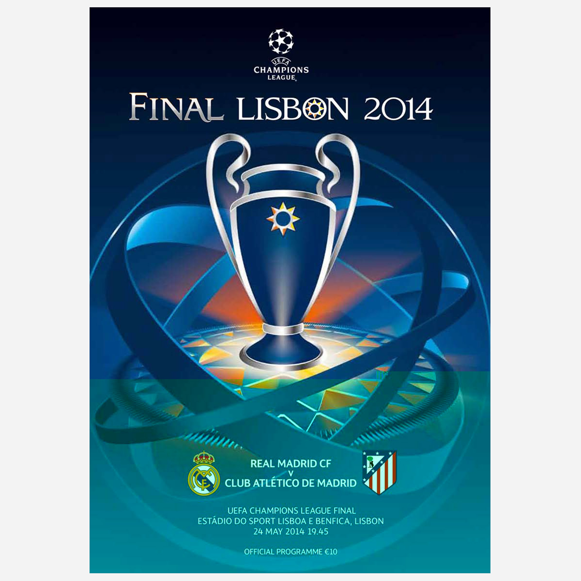 Real Madrid Final Programme - 2014