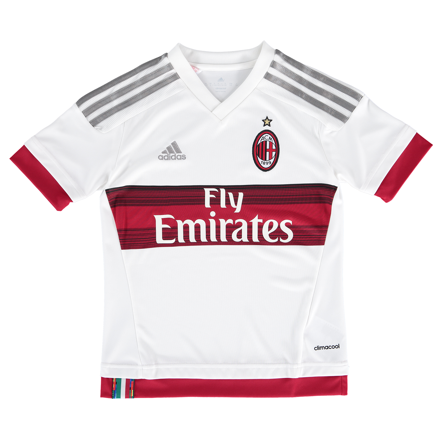 AC Milan Away Shirt 2015/16 - Kids White