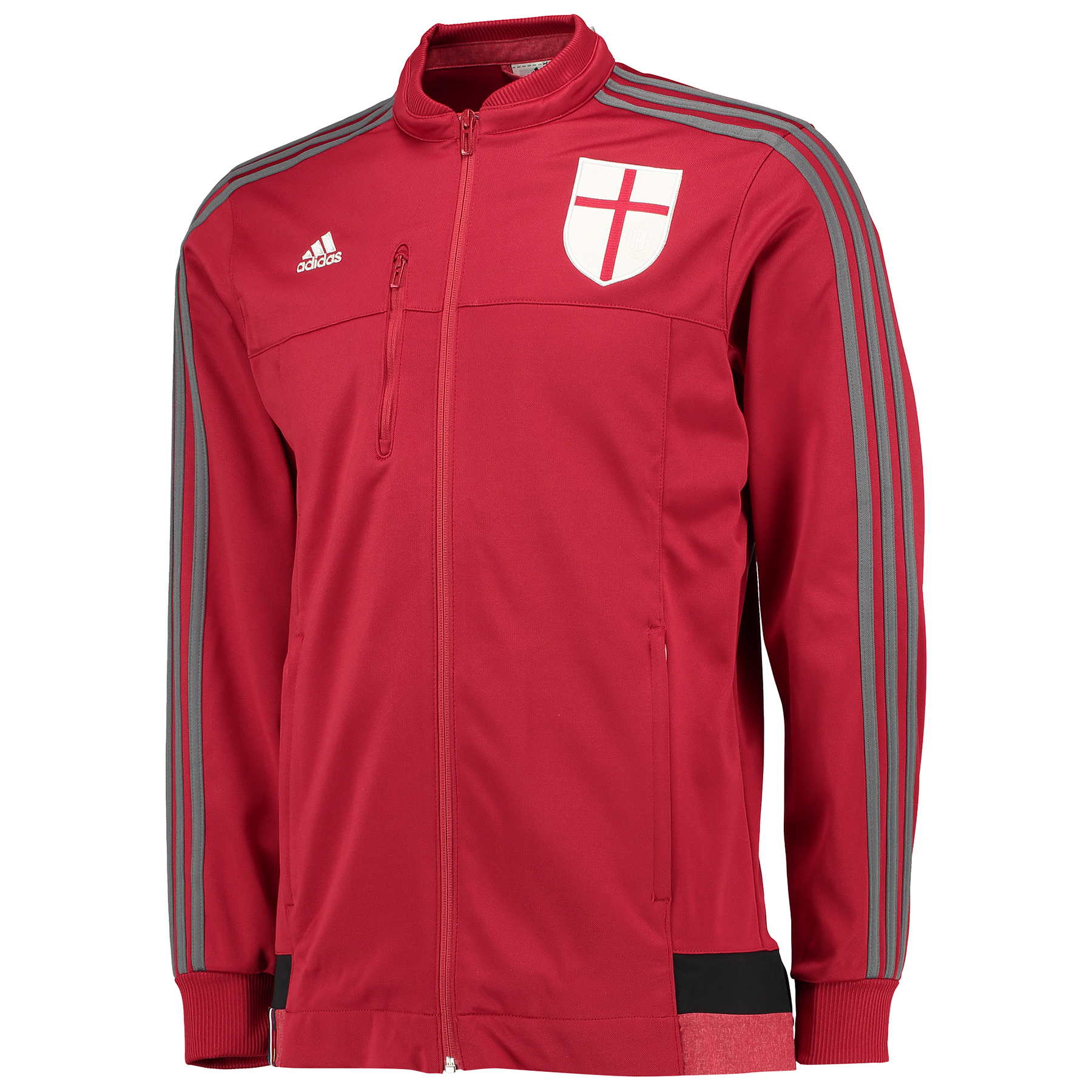 AC Milan Anthem Jacket Red