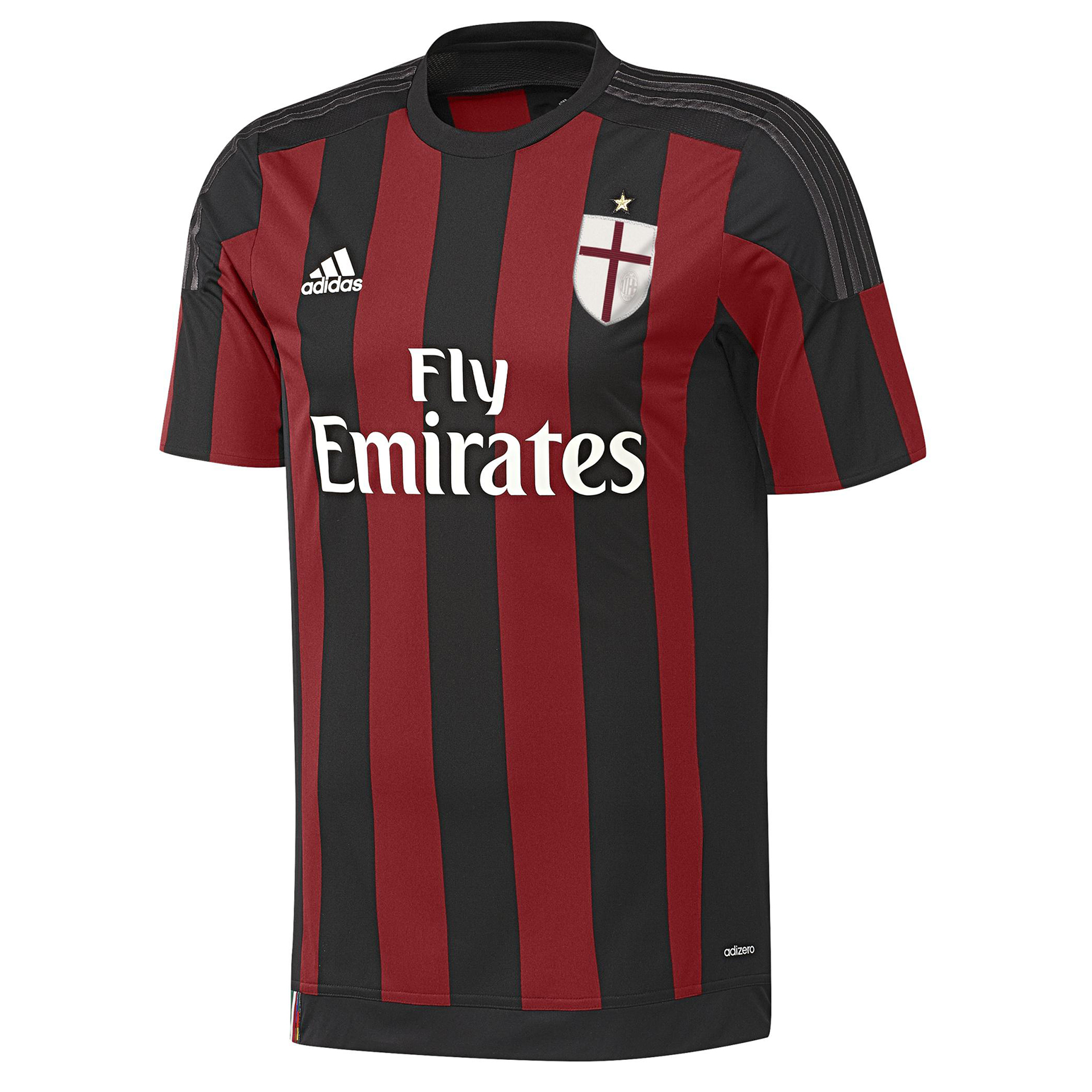AC Milan Home Adi Zero Shirt 2015/16 Black