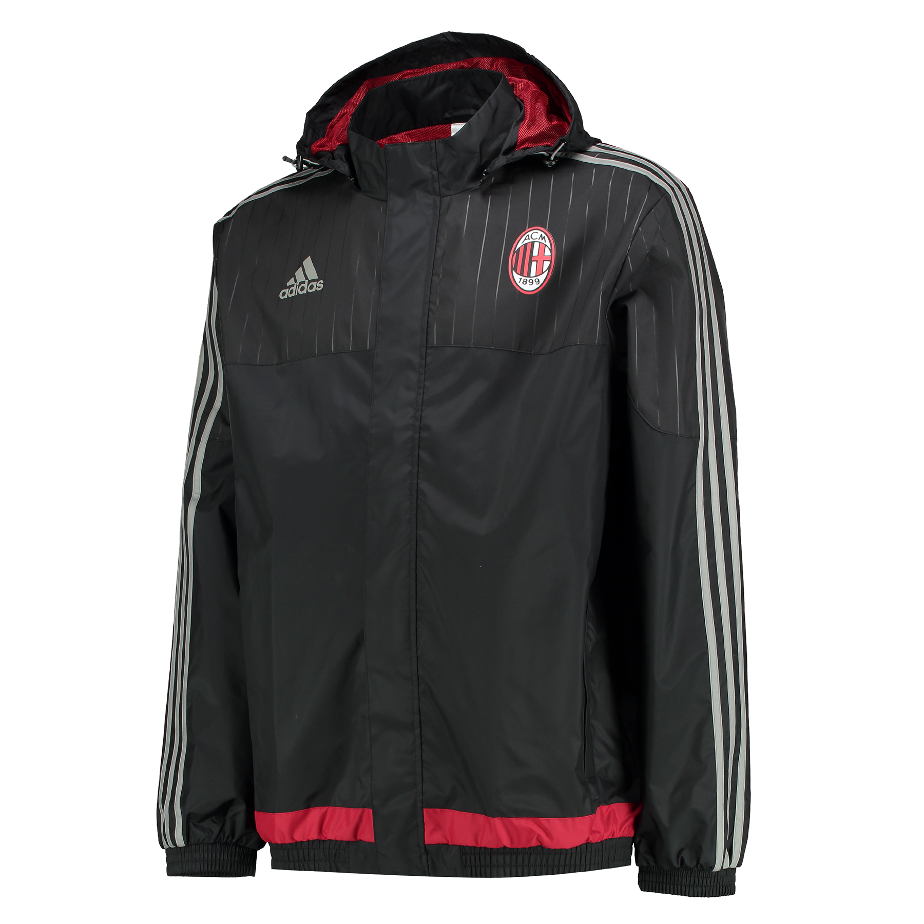 AC Milan All Weather Jacket Black