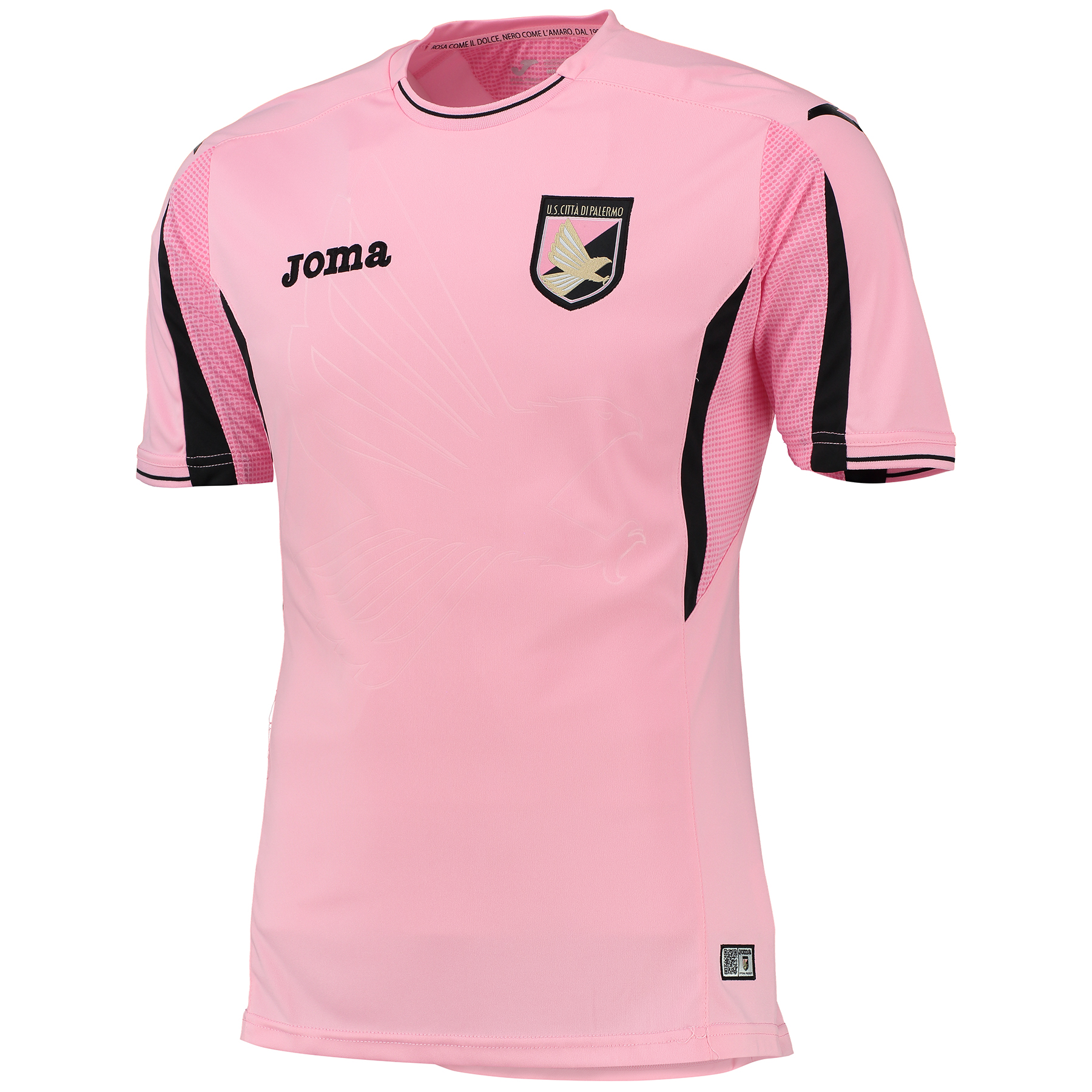 Palermo Home Shirt 2015-16 Pink