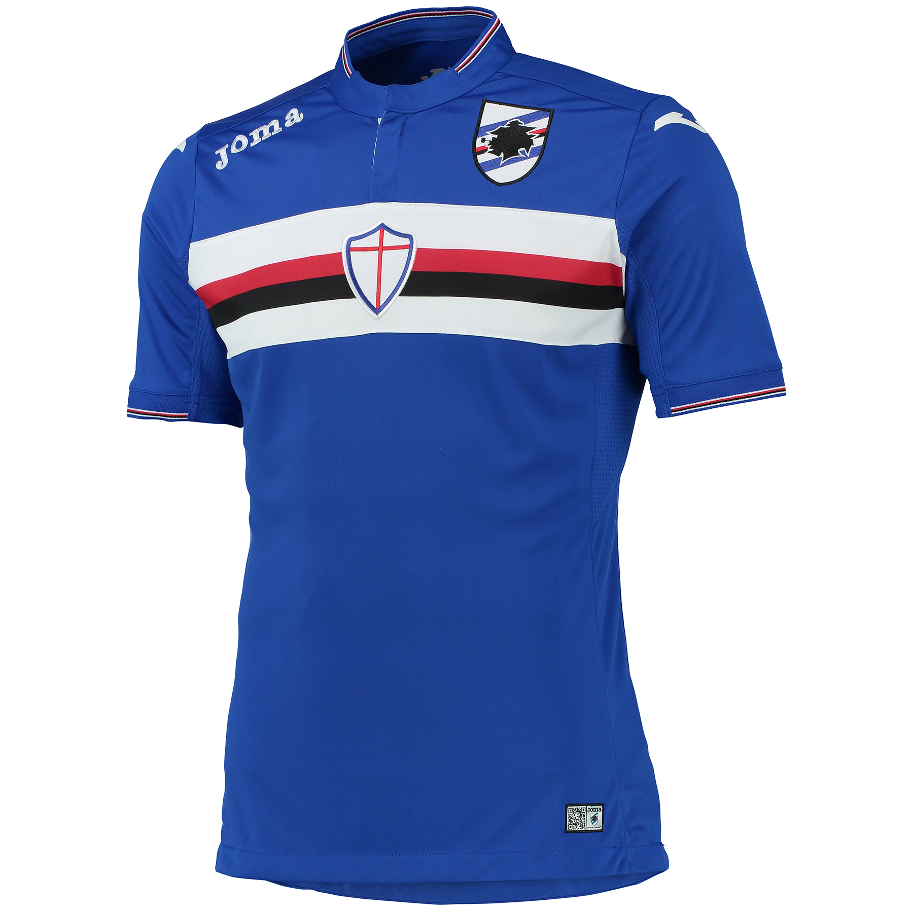 Sampdoria Home Shirt 2015-16 Blue