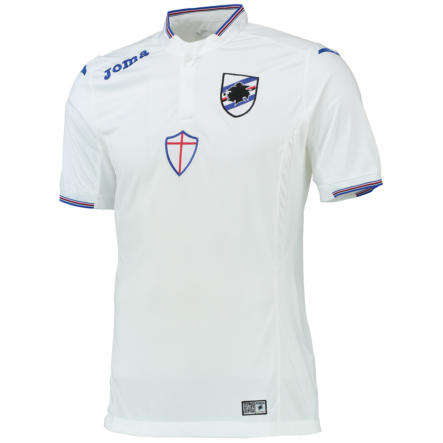 Sampdoria Away Shirt 2015-16 White
