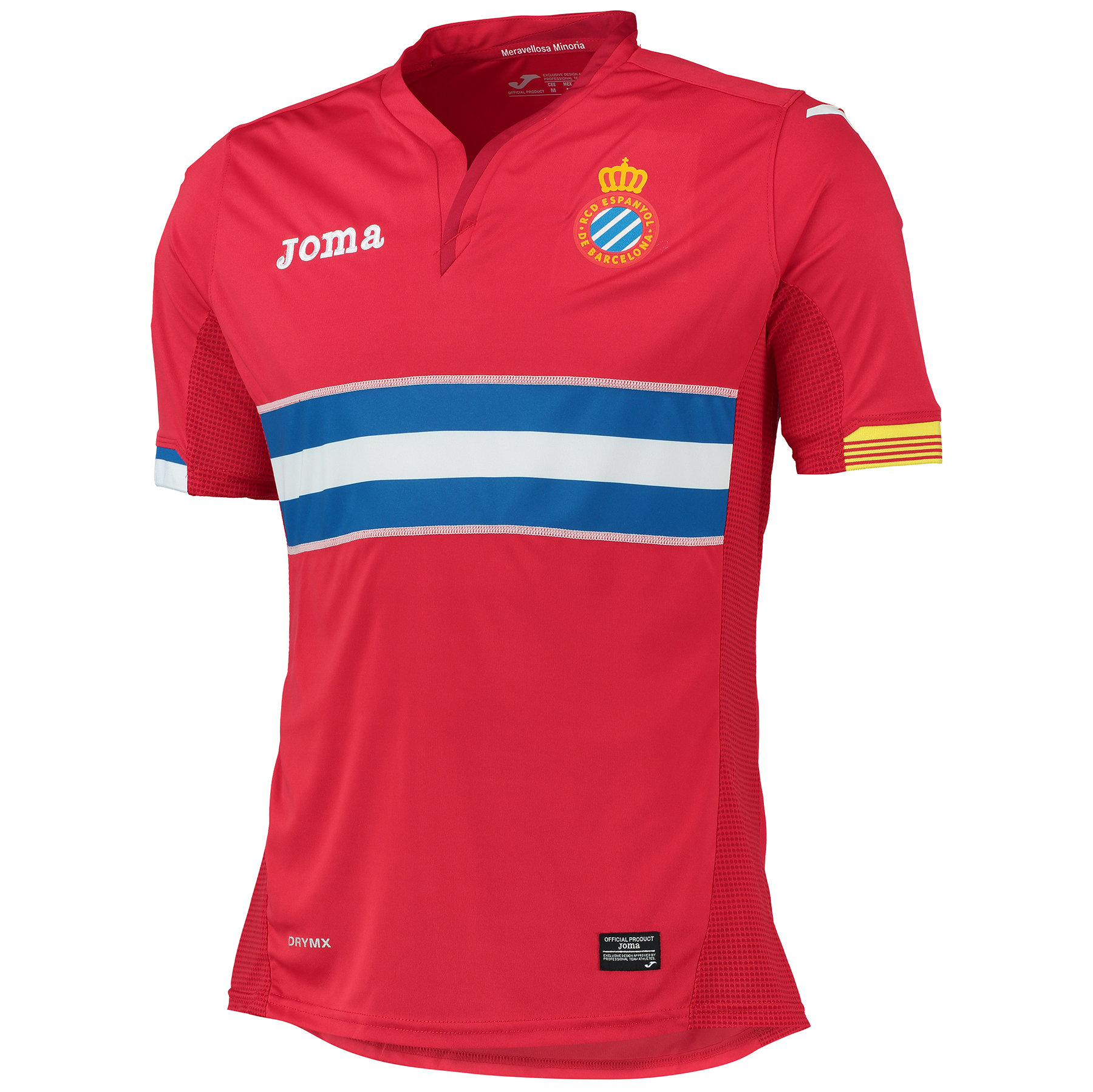 Espanyol Away Shirt 2015-16 Red