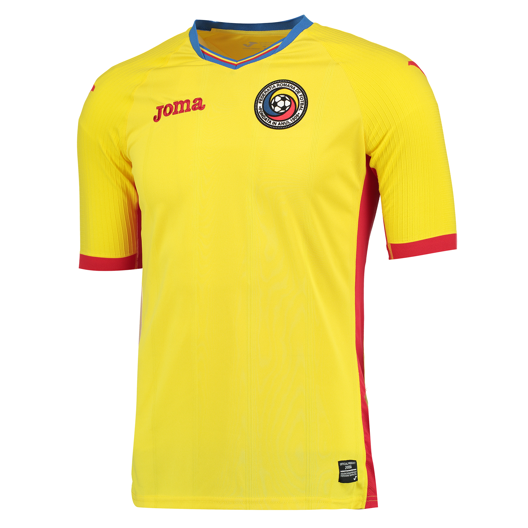 Romania Home Shirt 2016