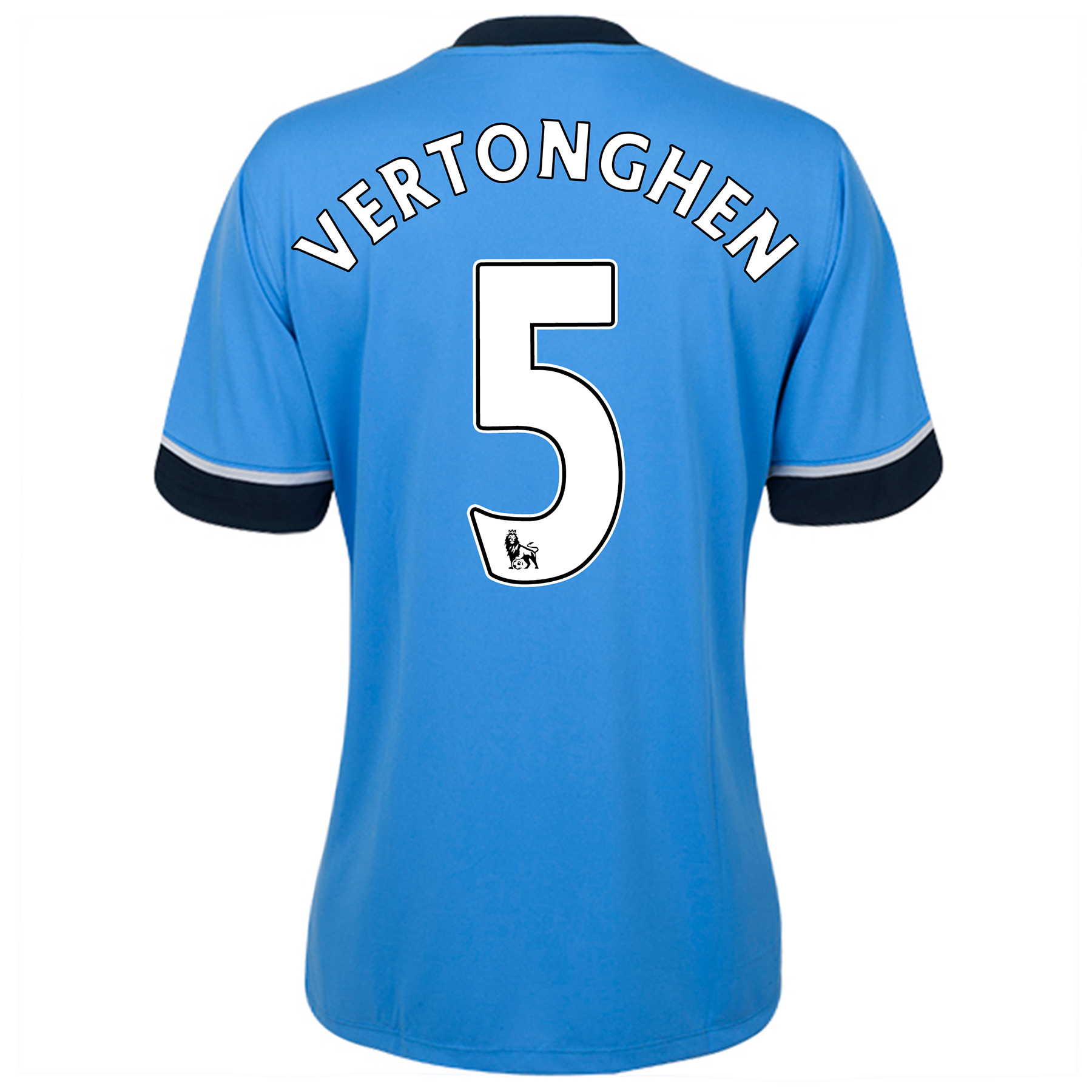 Tottenham Hotspur Away Shirt 2015/16 - Womens Sky Blue with Vertonghen 5 printing